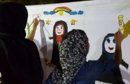 کودکان کیش عفاف و حجاب را در هر پنجشنبه نقاشی به تصویر کشیدند